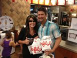 Palin eating chick fil a