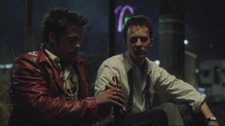 Fight club in the street