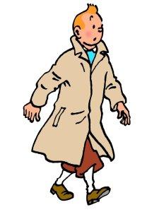 Tintin: your friendly neighborhood sleuth