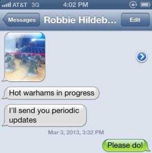 Robbie's Text