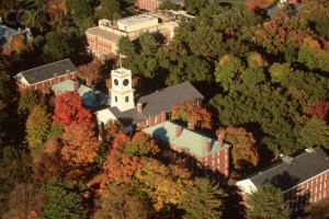 Aerial View of Amherst College