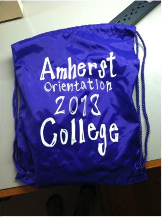 amherst orientation