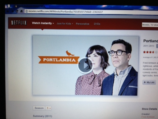 Portlandia on Netflix
