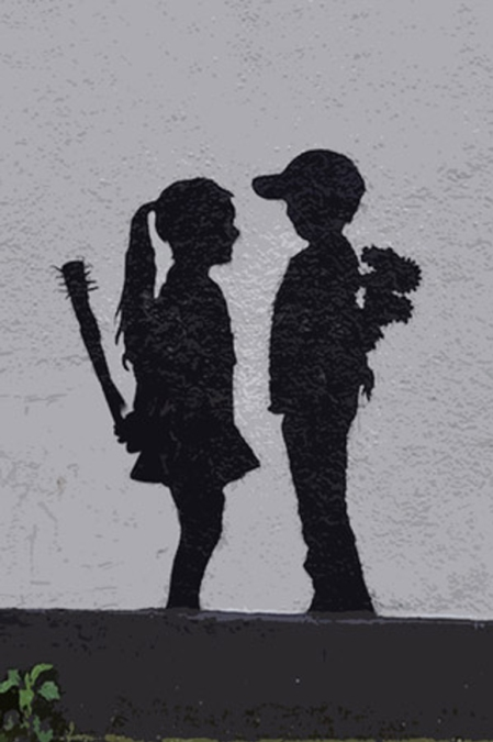 Boy-Meets-Girl-by-Banksy