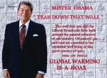 Take it from Ronald, global warming is DEFINITELY a hoax. (Flickr / Gene Tew