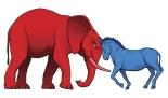 donkey-elephant