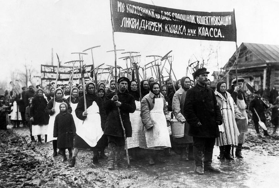 Soviet Farmers Circa 1931